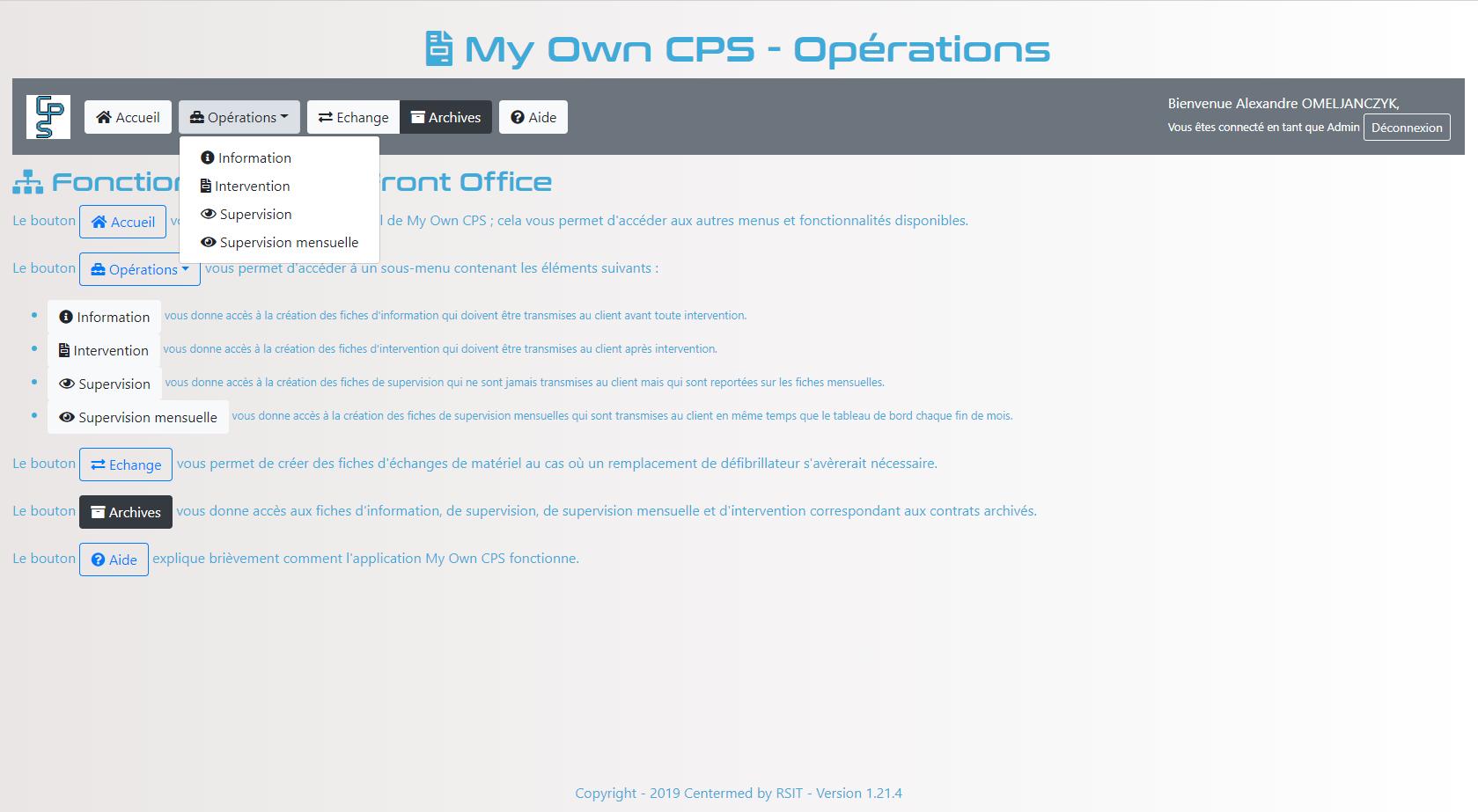 MyOwnCPS