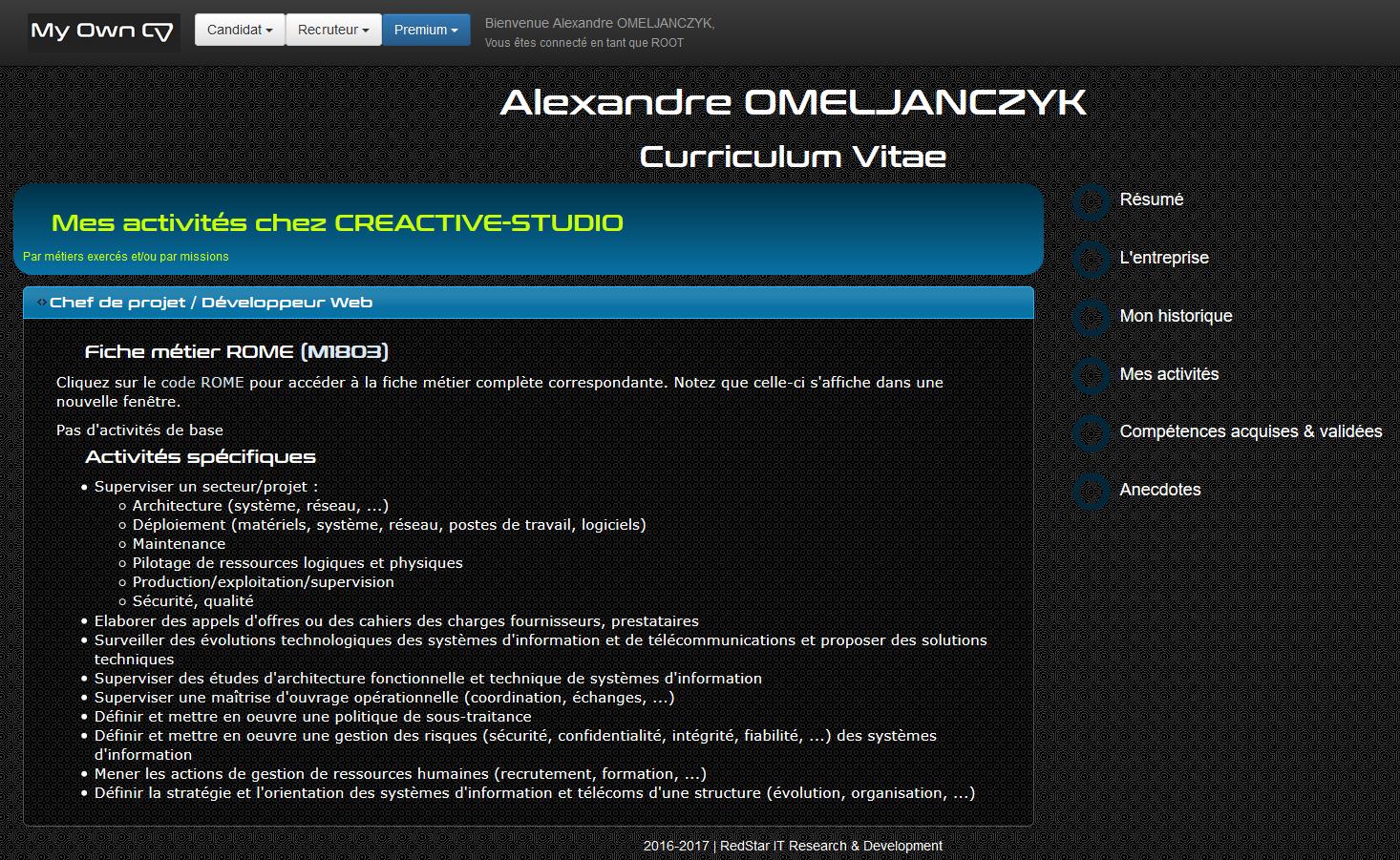 My Own CV #6