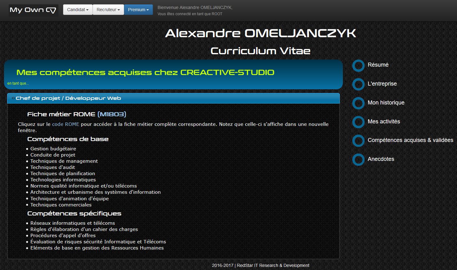 My Own CV #7
