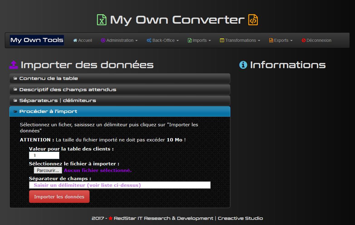 My Own Converter #5