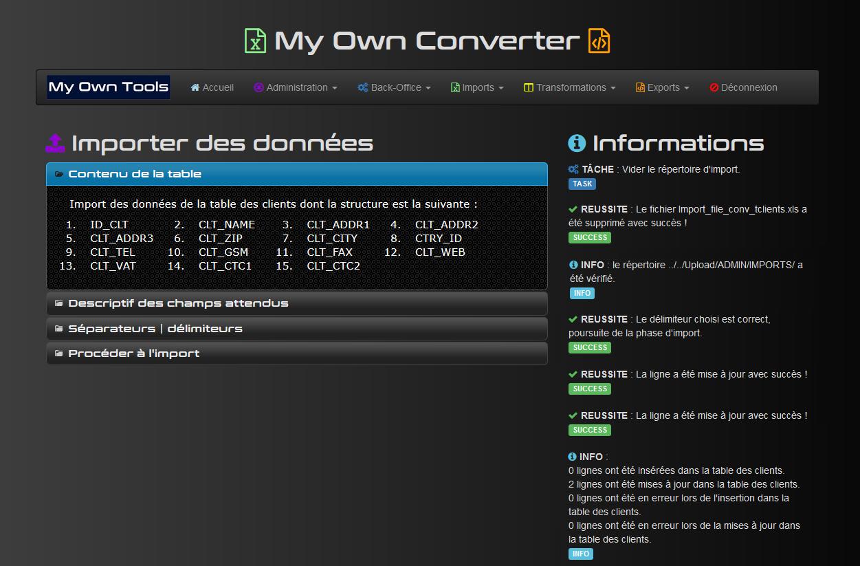 My Own Converter #6