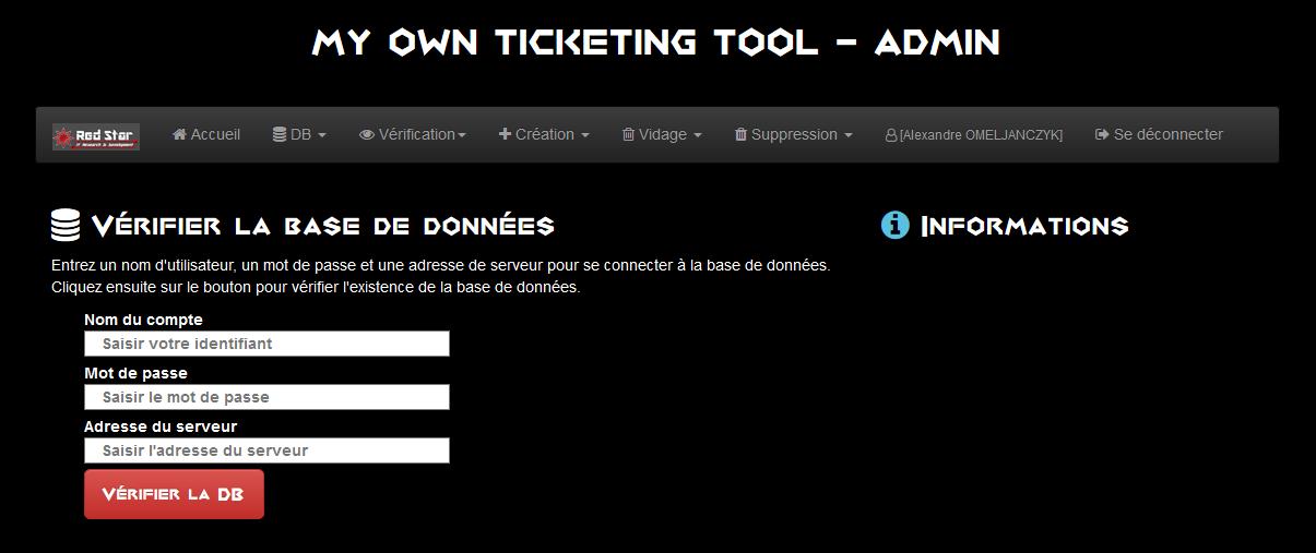 My Own Ticketing Tool #3